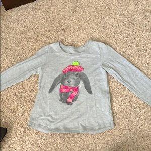 Girls Hanes Long sleeve T-shirt size small